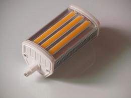 15W J118mm lampe led lumière torchis avec COB conduit remplacer 150w lampe halogène AC200-250V à partir de lampe halogène 15w conduit fabricateur