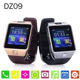 Wholesale Hot selling Smart HD Watch phone GV08 upgrade HD DZ09 Sync Smartphone Call SMS Anti lost Bluetooth Bracelet Watch for Men Women