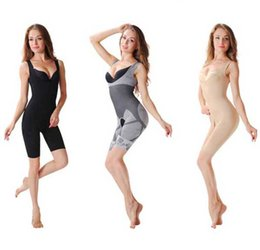 Wholesale Free Women Bamboo Fiber Magic Slimming Underwear Charcoal Body SHAPER WAIST Cincher Butt Lifter Underwear Black Skin Color