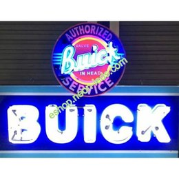 Wholesale D Buick Services Auto Neon Sign Authorized buick neon sign quot x28 quot UL CUL CE certificated