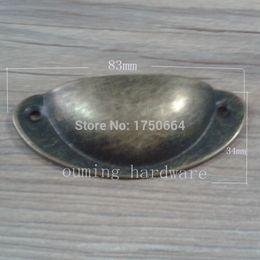 Wholesale Steel Black Cabinet Simple Shell Style Wardrobe Cupboard Drawer Pulls Handles