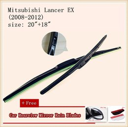 High Quality U-type Universal Car Windshield Wiper With Soft Natural Rubber For Mitsubishi Lancer EX Grunder Pajero Shogun Mirage L200