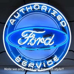 Wholesale Neonetics FRDBK Authorized Fordd Service Neon Light Sign Decorate Neon Bulbs Handcraft Recreation Room Garage Neon Sign x24