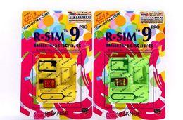 Wholesale RSIM PRO Super perfect R SIM Unlock ALL iPhone S C G S Official IOS T mobible Docomo Sprint Verizon GPP GSM CDMA DHL EMS Free