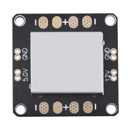 Wholesale 2pcs QAV250 CC3D Flight Controller Power Distribution Board BEC V V with Metal Shield Case AFD_E21