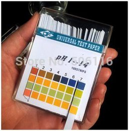 Wholesale 50pack Alkaline pH Test paper Strips Indicator Litmus Kit Testing for body level Urine Saliva PH1 Pack