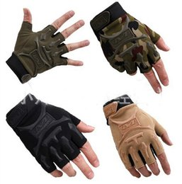 Wholesale Seals Military Tactical Gloves Swat Airsoft Hunting Motorcycle Cycling Racing Riding Gloves Armed Mittens Outdoor Sports Camping