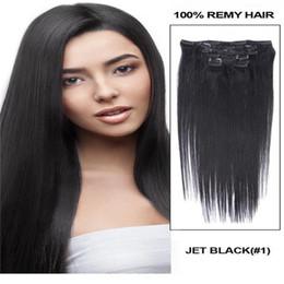 """Extensión del pelo humano clip de la cabeza llena en venta-26 """"Clip lleno de Remy principal en la extensión del pelo humano Negro Rubio opcional 120g 5set / lot"""