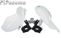 Wholesale Handguard Off road Motorcycle Hand Guards Motocross Dirt Bike MX ATV Handguards White CRF For KTM SX XC pazoma