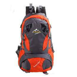 7 colors 45 L waterproof travel backpack Fashion camping professional climbing bag women hiking School bags Students backpacks