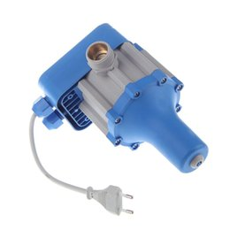 Wholesale Automatic Water Pump Pressure Controller Electric Electronic Switch Control Water Shortage Protection EU Plug V V bar order lt no t