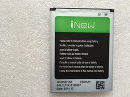Wholesale New Large mAh Original Battery for inew v3 plus Smartphone Tracking Number In Stock