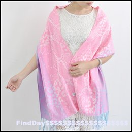Wholesale P powder system soft colors leopard Cotton Scarf Jacquard shawl scarf Lijiang national air conditioning