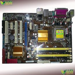Wholesale Second Hand For ASUS P5QL EPU P43 Desktop Motherboard Socket LGA needle DDR2 ATX Original New On Sale
