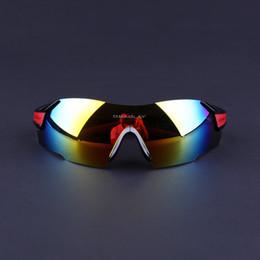 Rimless Sunglasses For Men Women UV400 Cycling Polarized Sunglasses Sport Bike Glasses Running Mountain Bike Golf Eyewear, Black and Red