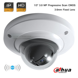 2017 mini cámaras wi fi Dahua 3.0MP CMOS CCTV Full HD Wi-Fi Mini Dome 1080P Seguridad Cámara IP 3.6mm lente mini cámaras wi fi Rebaja