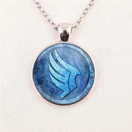 Wholesale Glass Dome Pendant For Jewelry Mass Effect Necklace N7 Pendant Jewelry Picture pendant glass gemstone necklace