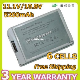 Wholesale Super laptop battery for Apple iBook G4 quot A1054 A1133 A1008 A1061