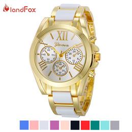 Landfox Luxury Brand Watches Men Montres Gold Watch For Men Horloges Geneva Roman Numeral Uhr Mens Wrist Watch Man Of The Brands