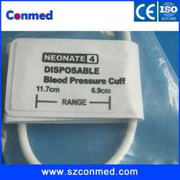 Wholesale 5 units High quality compatible Neonate disposable NIBP cuff for blood pressure monitor TPU meterial singel tube Blood pressure cuff