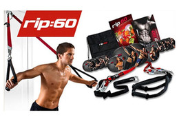 Wholesale Home door Workout Trainer Belt home fitness rip60 rip day Dvds Equipment rop bands Jillian Michaels George VS P90x T25