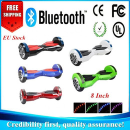 EU Stock 8 inch hoverboard bluetooth Free Tax Smart Balance electric scooter Self Balancing Electric Scooters HoverBoards Drop Shipping