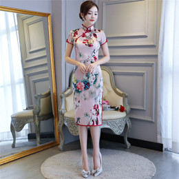 Shanghai Story Chinese Qipao Dress Top Quality Chinese style Cheongsam Oriental dress Women's Vintage Dresses