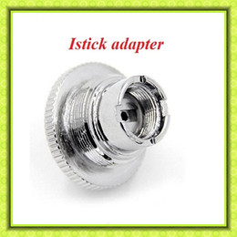 Wholesale Istick adaptor ego adaptor istick accessories ego thread connector adapter fit istick w battery mini istick w VS Istick usb charger