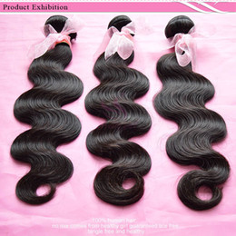 Indian Virgin Hair Body Wave Wavy Unprocessed Human Hair Weave Bundles 8A Brazilian Cambodian Eurasian Malaysian Peruvian Hair Natural Color