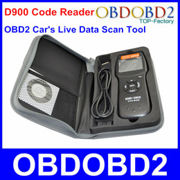 Wholesale Universal D900 EOBD OBD2 Scanner Car s Engine D900 Code Reader Diagnostic Tool For Multi Brand Cars Verison In Stock