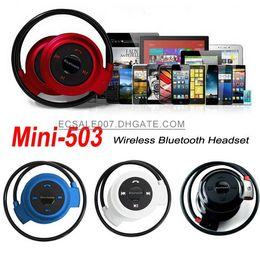 Wholesale Portable Mini Sports Wireless Bluetooth Stereo Headset Handsfree Headphone Earphone for iPhone S Samsung Galaxy S6 S5 Note Sony LG