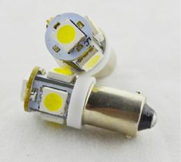Wholesale 10PCS T11 BA9S T4W H6W White LED SMD Car Wedge Side Light Lamp Bulb V The width turn license plate light
