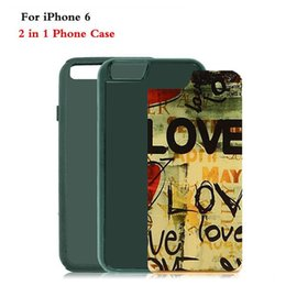 Wholesale Iphone inch in TPU PC Sublimation Heat Press Cell Phone Cases With Metal Aluminium Plates For Iphone DHL Free