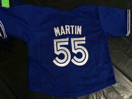 30 Teams- Cheap Toronto 55 Martin jersey Custom any name any number grey Cool Base Mens Womens Kids Baseball Jerseys