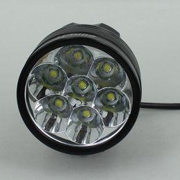 Wholesale 5 X Cree Bike Lights XM L T6 Lumens Modes Bike Light Bicycle Front Lamp Headlight Headlamp V Battery X Cree Bike Lights XM L