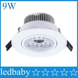 Wholesale 9W LED Downlight LED Ceiling Light Best Quality Dimmable Led Recessed Lights Led for Kitchen Led Light