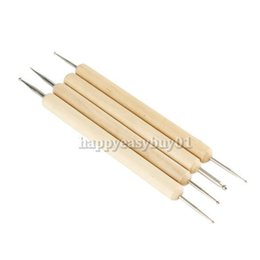 Wholesale Pack of Ball Stylus Polymer Clay Pottery Ceramics Sculpting Modeling Tools PTSP