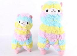 Wholesale Hot Sale Fashion cm cm Cute Japan Amuse Rainbow Alpacasso Alpaca Plush Toy Doll Gift