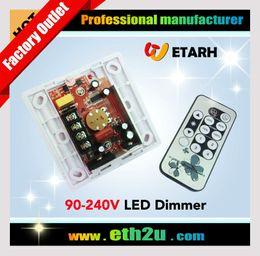 LED gros-haute tension 220V IR gradateur, 90V ~ 240V 110V 230V, Approprié pour le conducteur TRIAC, Livraison gratuite à partir de haute tension gradateur fournisseurs