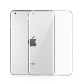 For Apple iPad mini 4 3 2 TPU Soft Case for iPad Air 2 Transparent Silicon Slim Shell for iPad 2 3 4