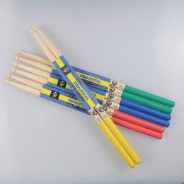 Wholesale Druml Accessories A Drumsticks Drum Sticks Nylon Material Lightweight Design for Drum Set Colors for Choosing
