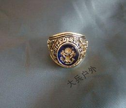 Services de l'équipe à vendre-anneau États-Unis armée des États-Unis équipe de l'honneur de ring d'honneur de service cuivre-or de l'anneau
