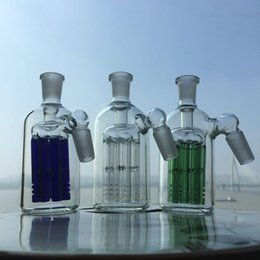 Wholesale Manufacturer thick heavy arms tree ashcatcher mm ash catcher mm glass smoking accessories for bubbler and water pipes glass bowl