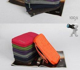 Wholesale New Organiser Passport Ticket Holder Paper Bag Zero Wallet Light Document Bag For Travel Free Shopping