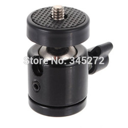 "Wholesale-1 4"" Screw Tripod Mini Ball Head for DSLR Camera Camcorder Light Bracket Swivel"