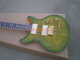 Best Selling Green Model Electric Guitar High Quality Free Shipping