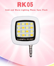Wholesale 2015 New RK Flashlight Synchronous LED Flash Light For IOS Android Windows iphone samsung Mobile Phone Piece