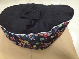 Wholesale black birds baby seat retail baby bed baby seat bean bag baby bean bag