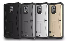 Wholesale The new phone shell sets for samsung galaxy S7 note note5 armored tank drop bracket three in one protection set xx1224