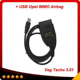 Wholesale 2016 Hot promotion and Vag Tacho Immo Tacho USB Cable OBD Auto diagnostic scanner cable